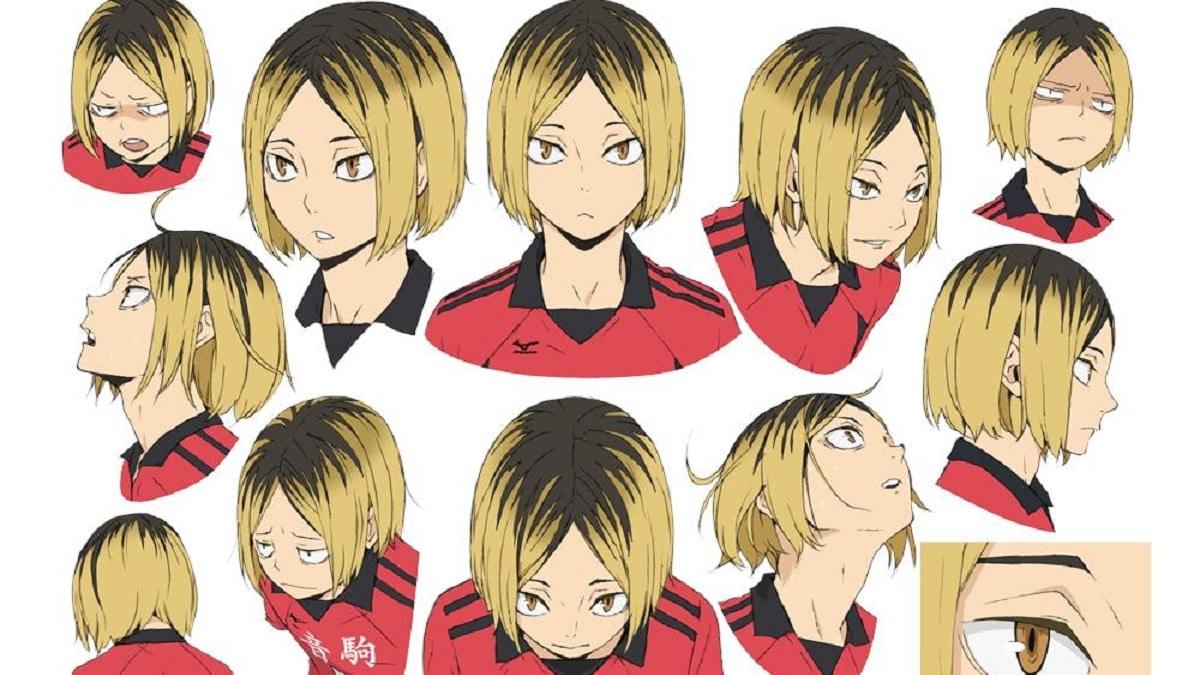 New character designs for Haikyuu Season 4