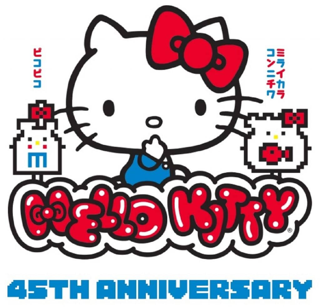 Hello Kitty 45th Anniversary. Pic credit: Hello Kitty Friends Around the World Tour.