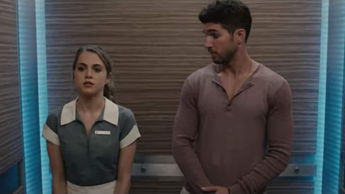 Anne Winters and Bryan Craig as Ingrid and Javi on Grand Hotel.