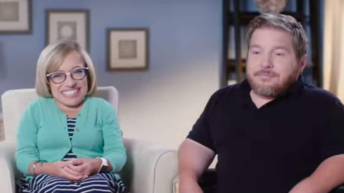 Jen Arnold and Bill Klein from The Little Couple.
