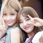 Jihyo and Momo