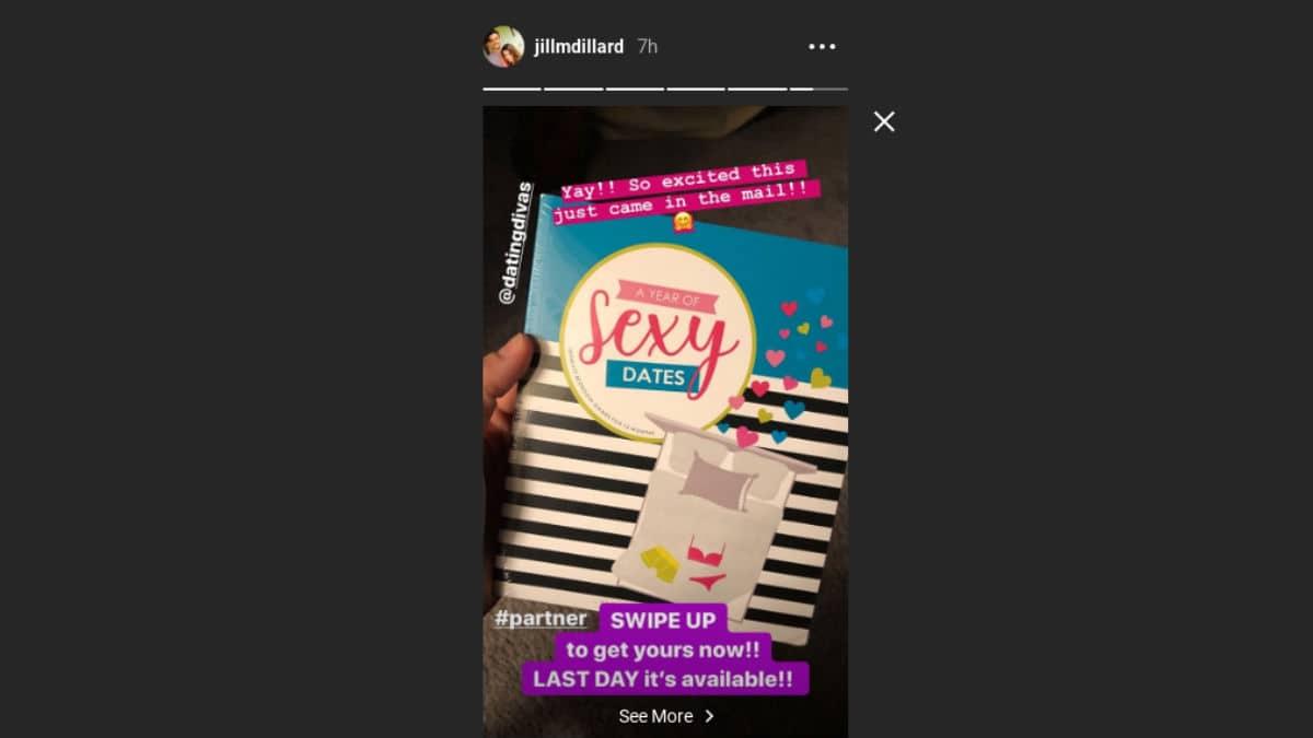 Jill Duggar's Instagram story.