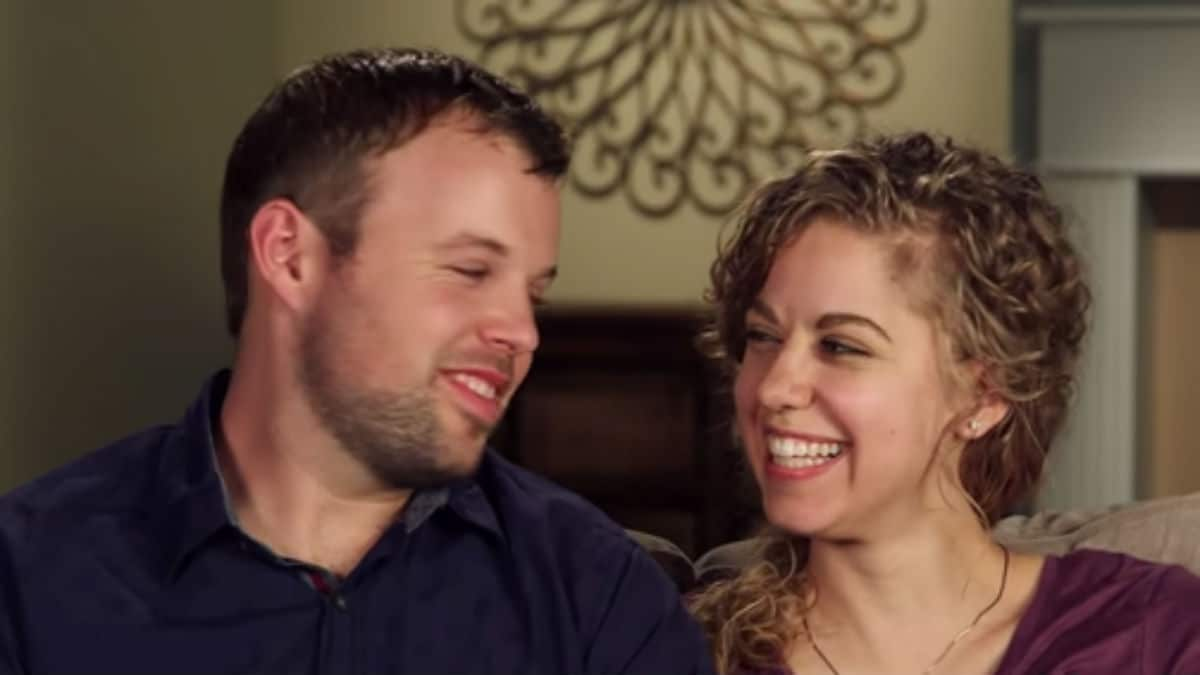 John David Duggar and Abbie Grace Burnett during a Counting On confessional.