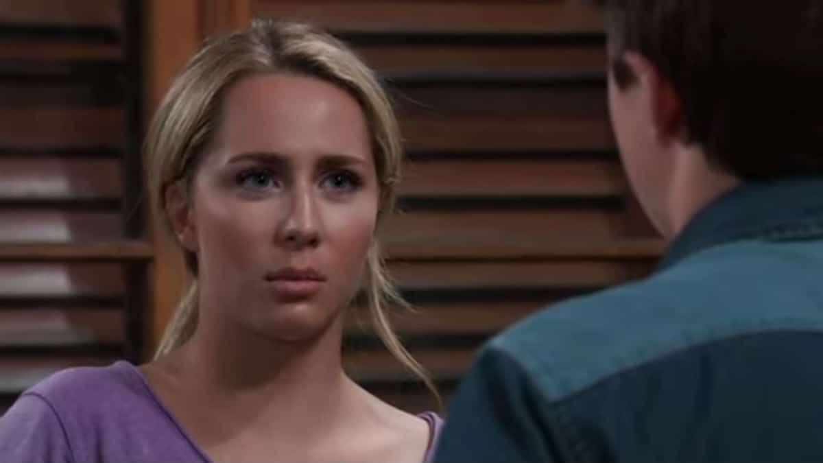 Eden McCoy as Joss on General Hospital.