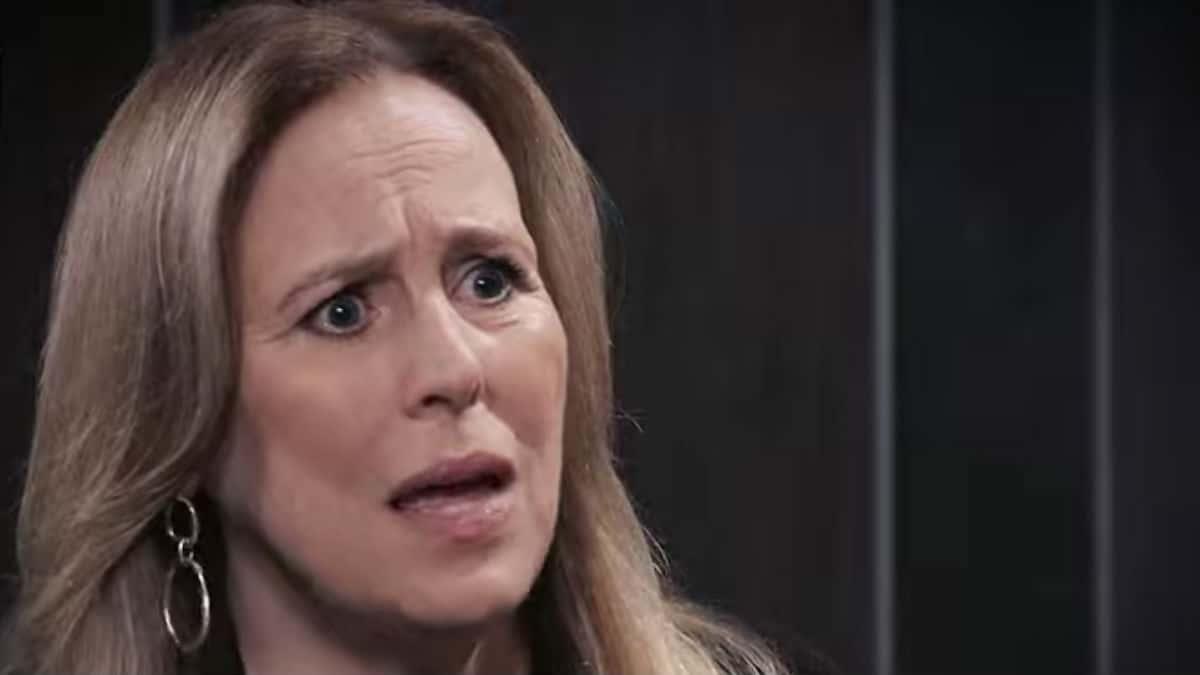 Genie Francis as Laura on General Hospital.