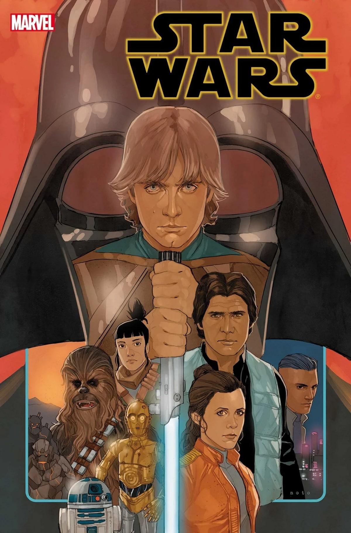Marvel's Star Wars #75. Pic credit: Marvel.