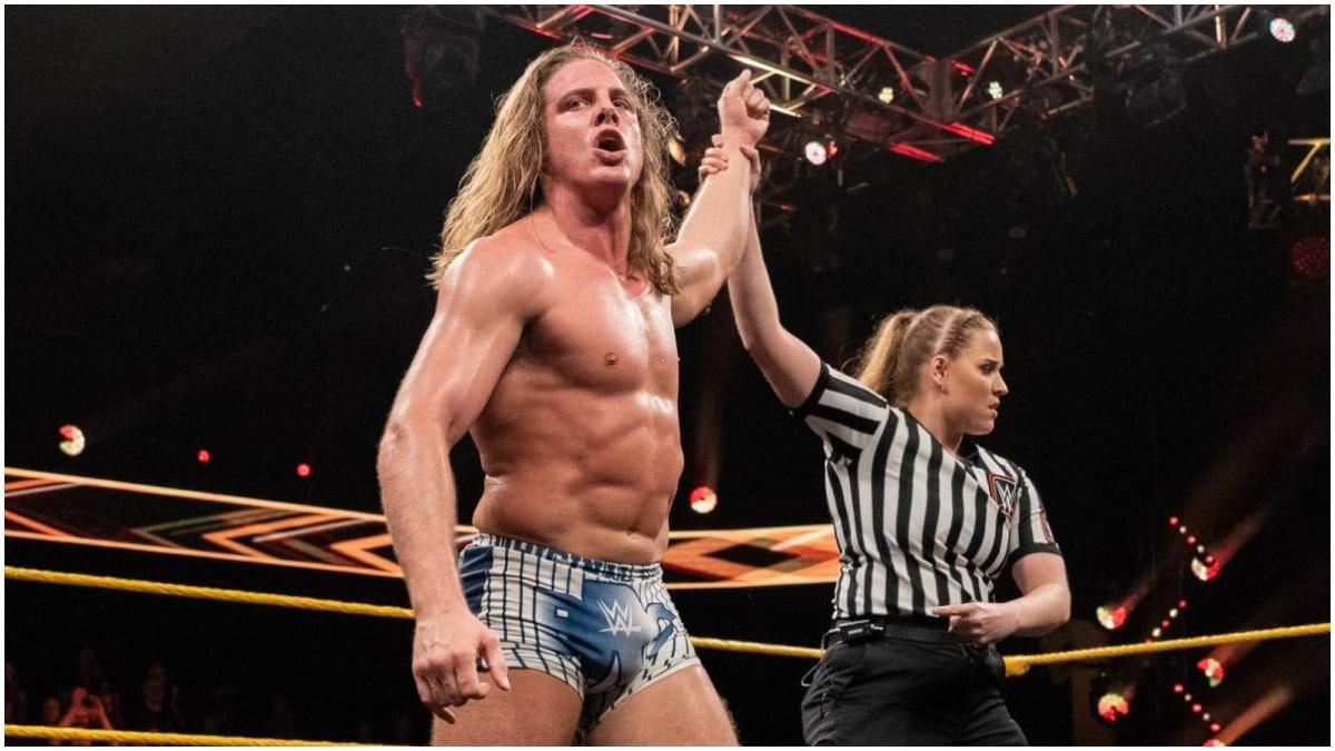 Matt Riddle meets Goldberg backstage at WWE SummerSlam