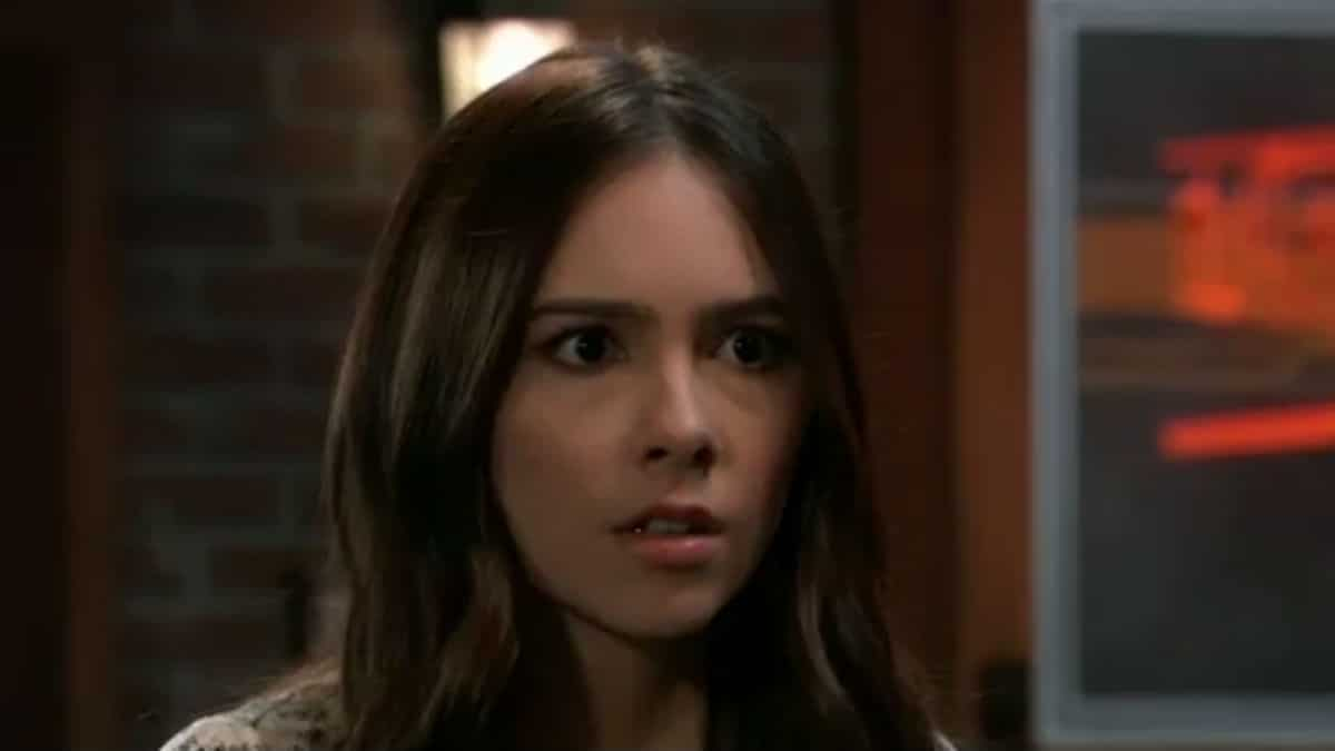 Haley Pullos as Molly on General Hospital.