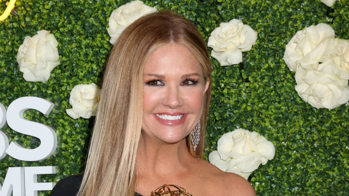 Nancy O'Dell at the CBS Daytime Emmy party.