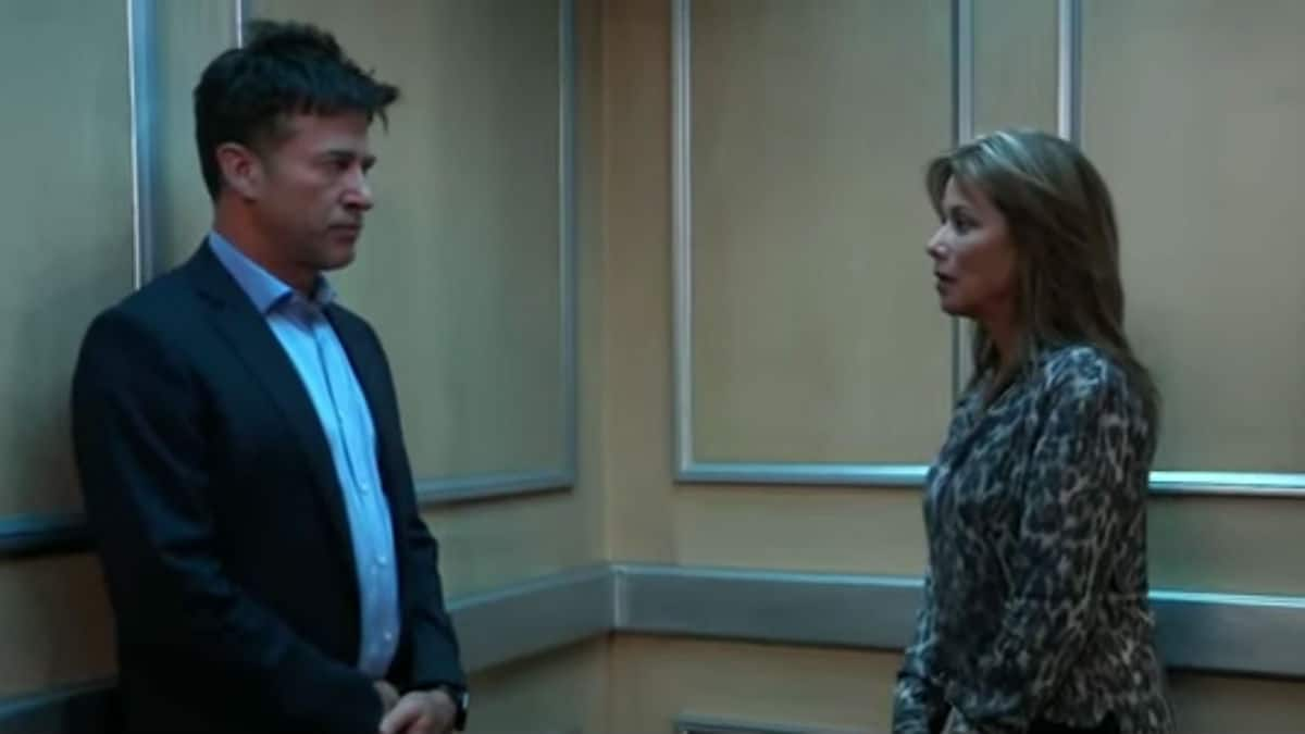 Neil and Alexis on General Hospital.