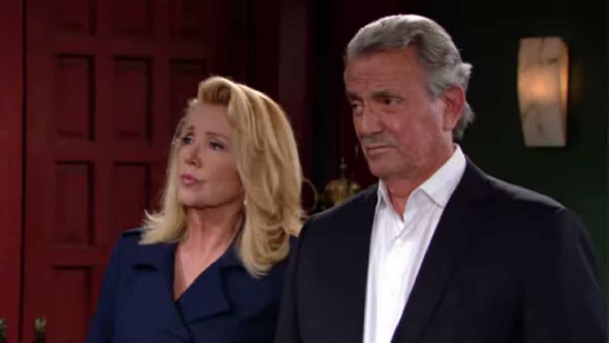 Victor and Nikki on The Young and the Restless.