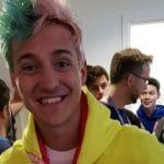 Tyler Blevins, aka Ninja at the Fortnite World Cup