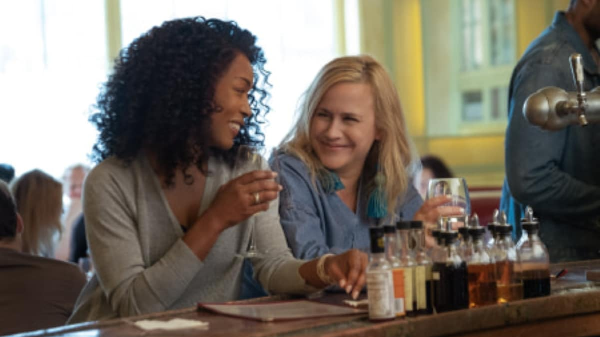 Angela Bassett and Patricia Arquette in Otherhood