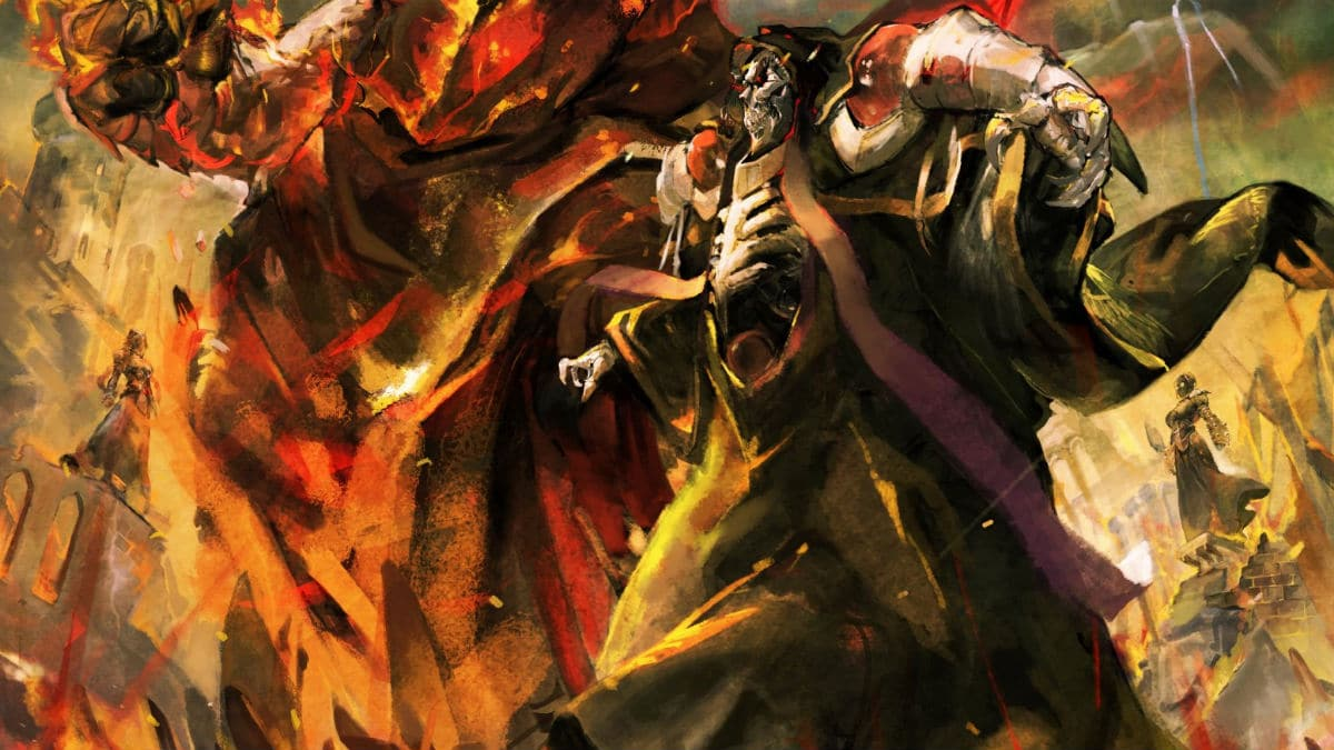Artwork from the Overlord light novel series