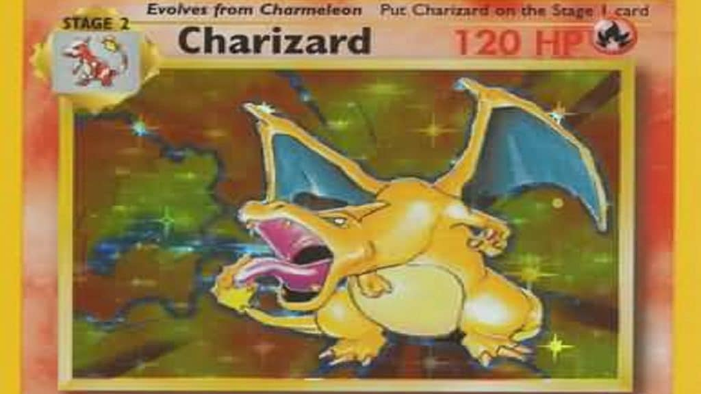 Charizard card. Photo cred: Relentless Dragon