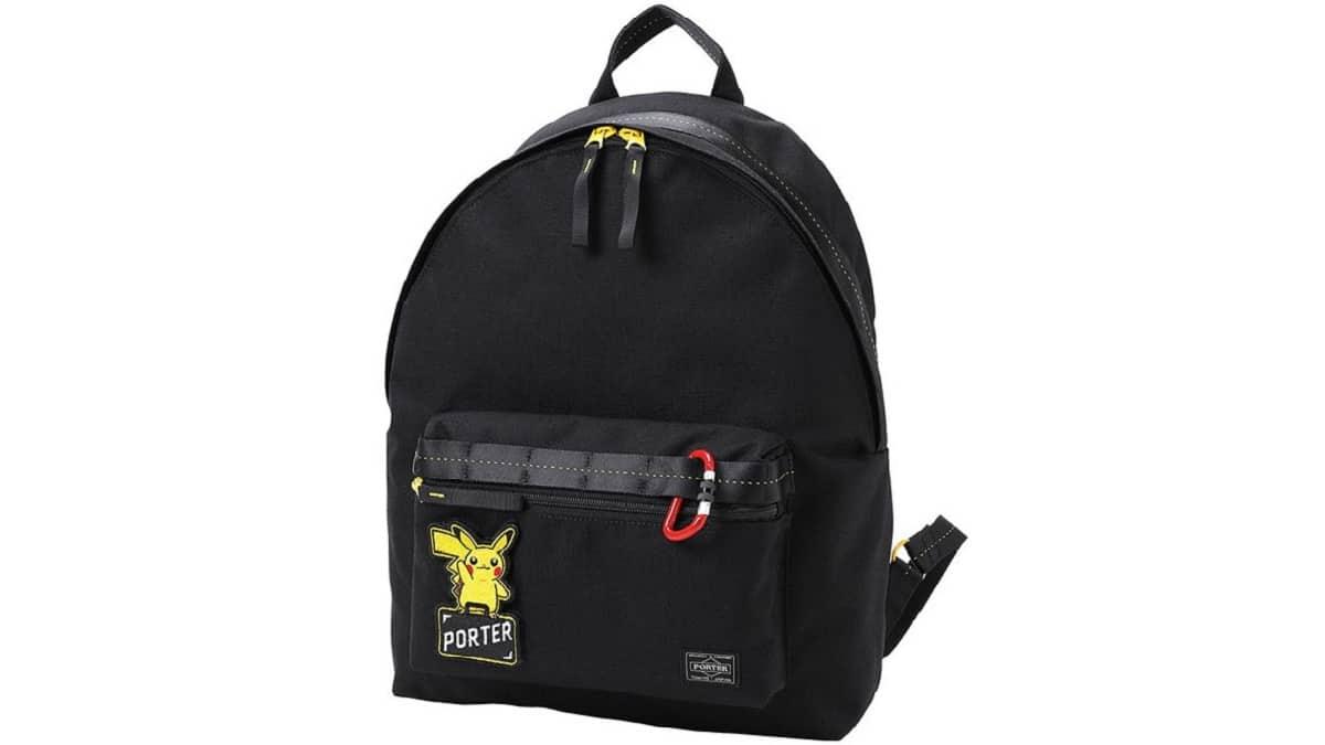 PokemonxPORTER01 - Pokémon x PORTER bag collection features Pikachu and Pokéball