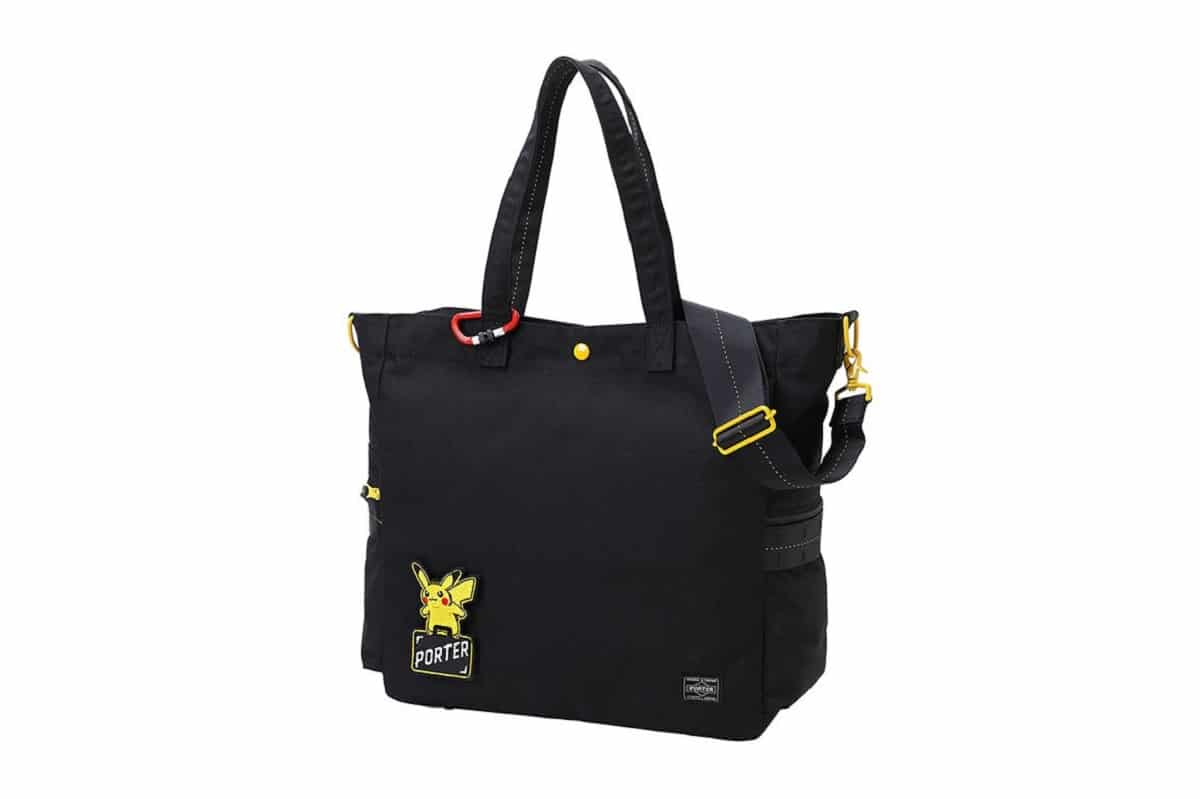 Pokémon x PORTER bag collection. Photo cred: HYPEBEAST.