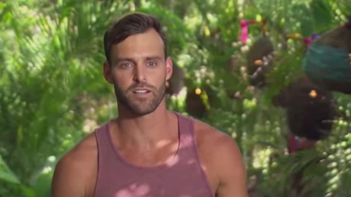 Robby Hayes on Bachelor in Paradise.