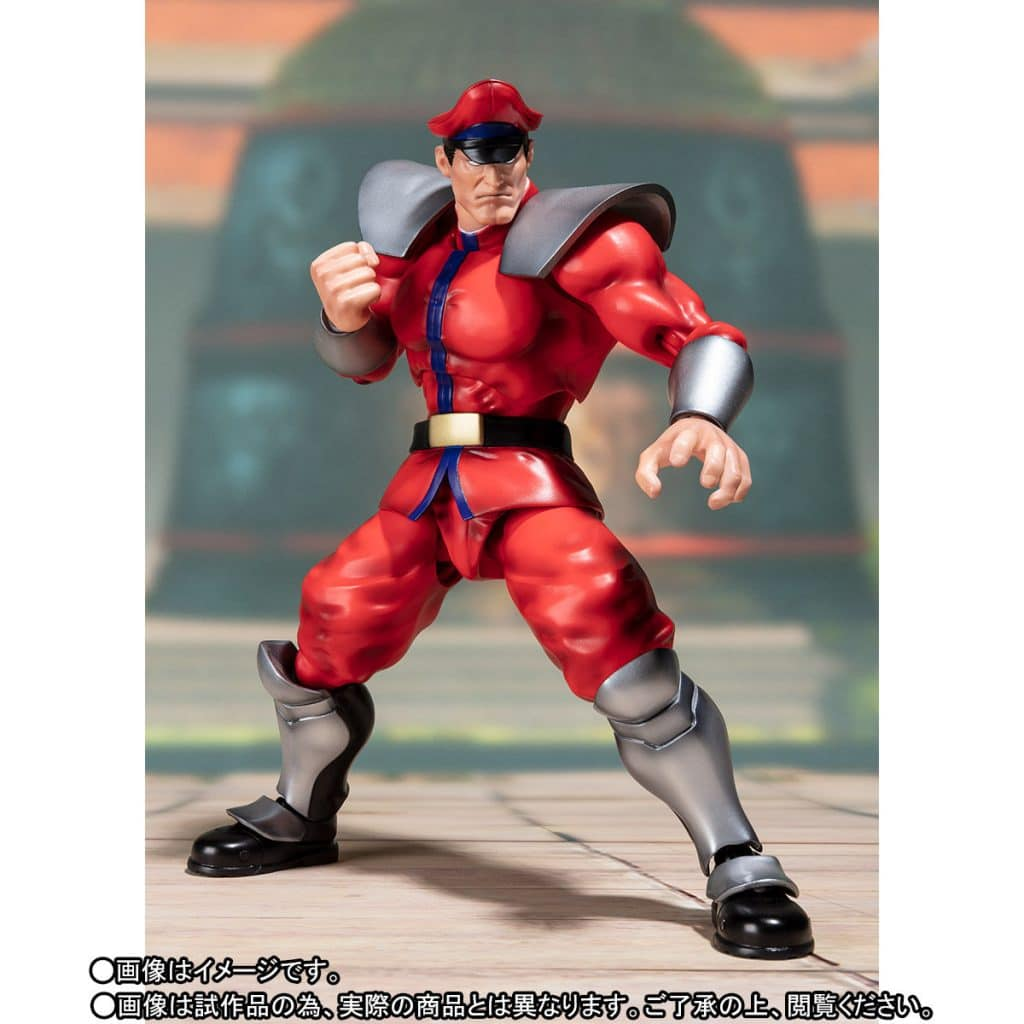 The Street Fighter V – S.H. Figuarts Classic Costume M. Bison in fighting pose