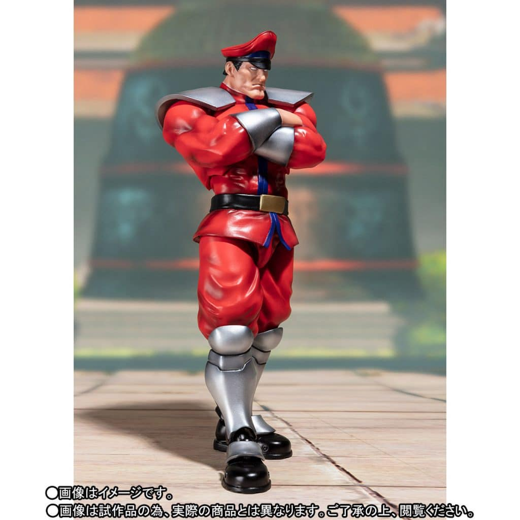 The Street Fighter V – S.H. Figuarts Classic Costume M. Bison looking stern