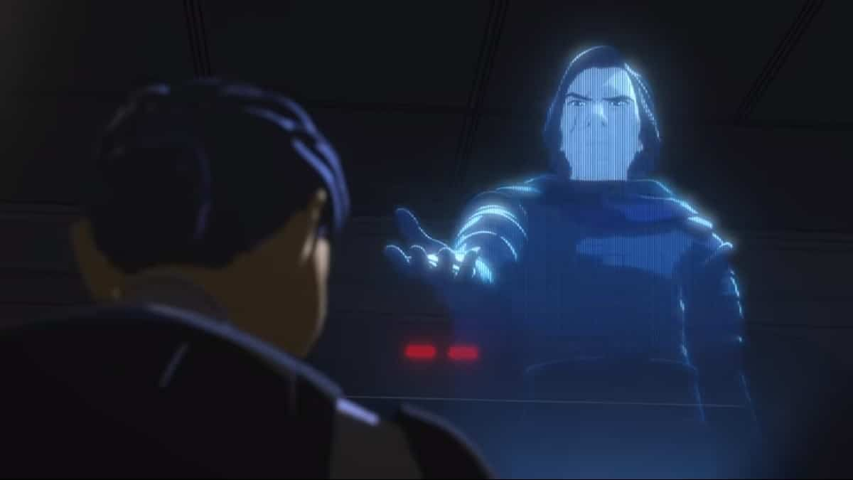 Screenshot of Star Wars: Resistance Season 2 trailer. Photo cred: Star Wars