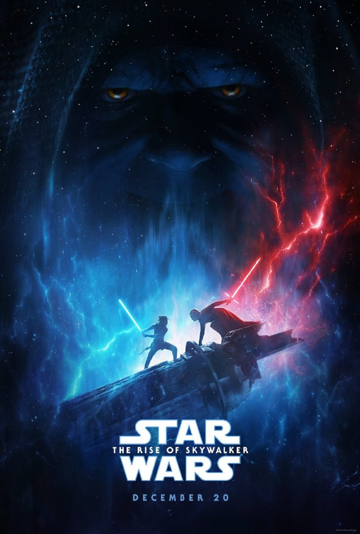 Star Wars: The Rise of Skywalker D23 Expo 2019 poster. Pic credit: Lucasfilm.