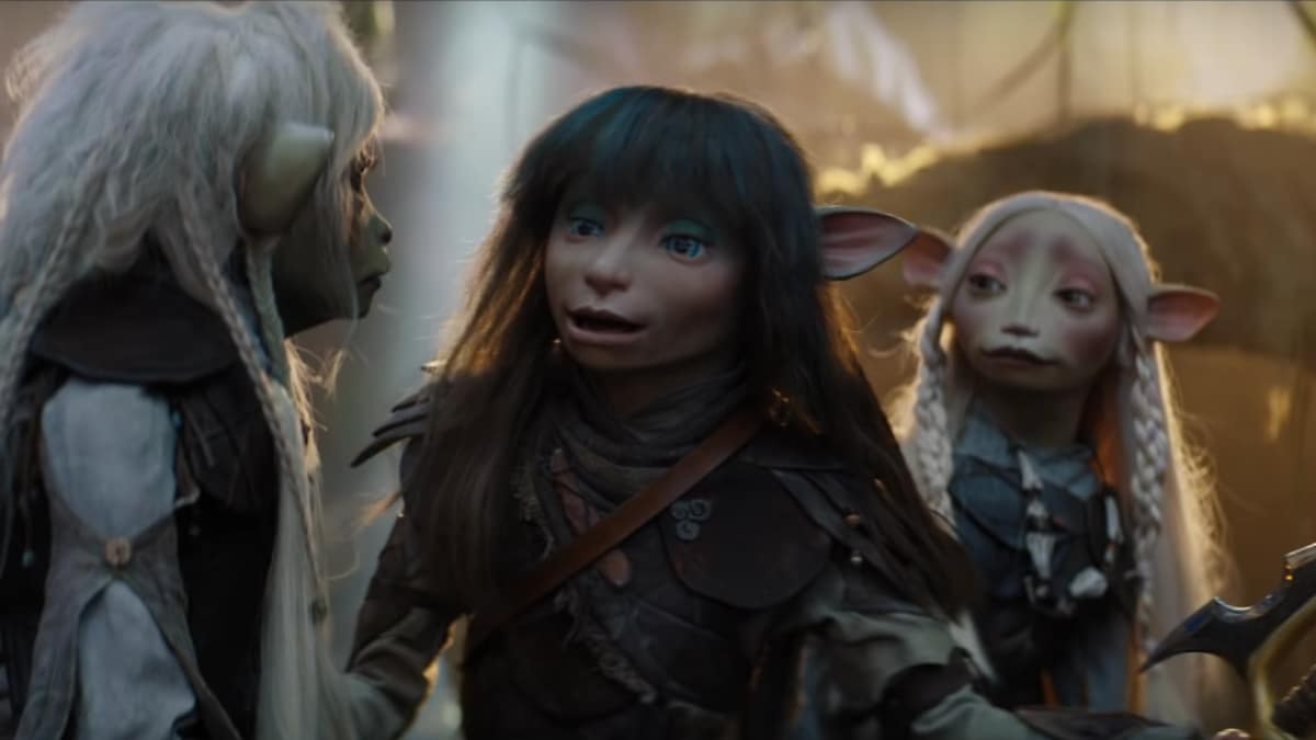 Characters from The Dark Crystal: Age of Resistance.