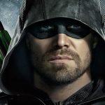 Stephen Amell as Green Arrow on Arrow.