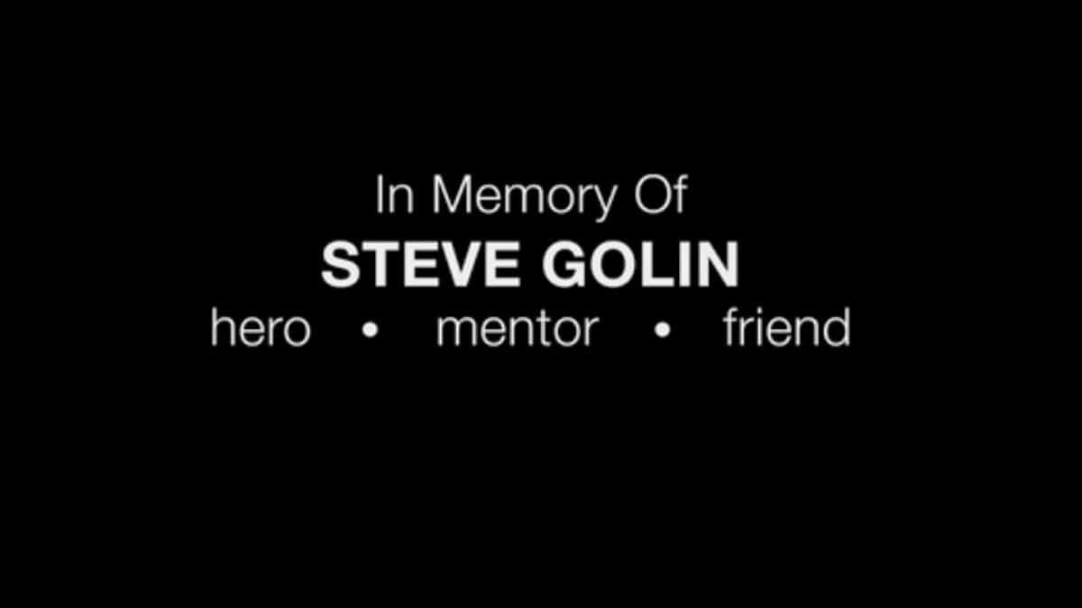 Steve Golin tribute