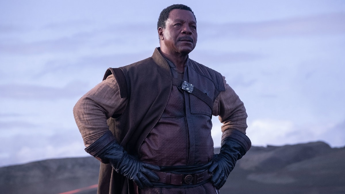 Carl Weathers as Greef Carga. Pic credit: Lucasfilm.