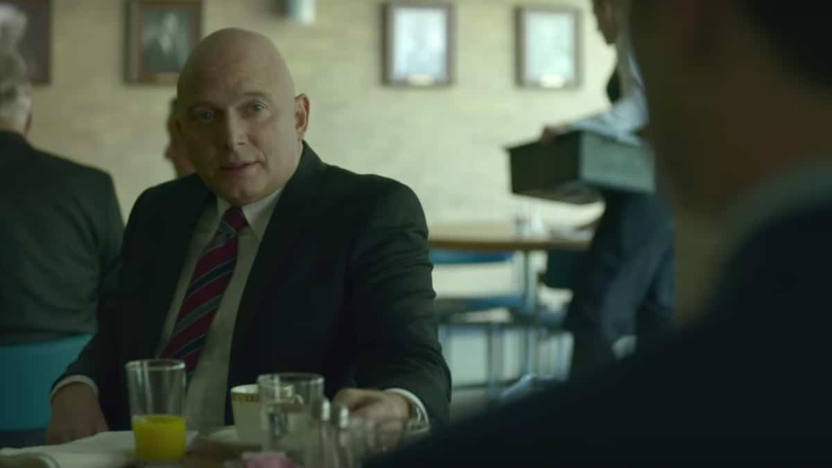 Michael Cerveris as Ted Gunn on Mindhunter