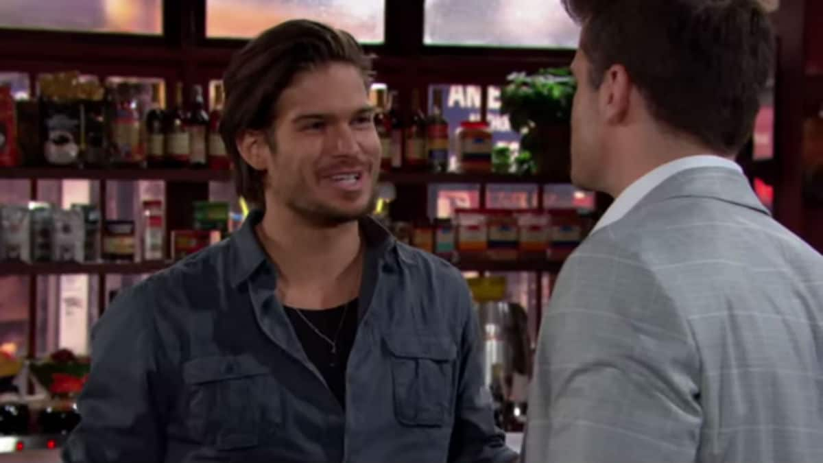 Theo and Kyle on The Young and the Restless.