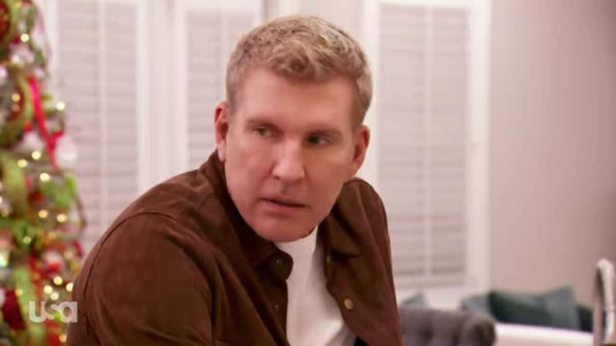 Todd Chrisley on Chrisley Knows Best.