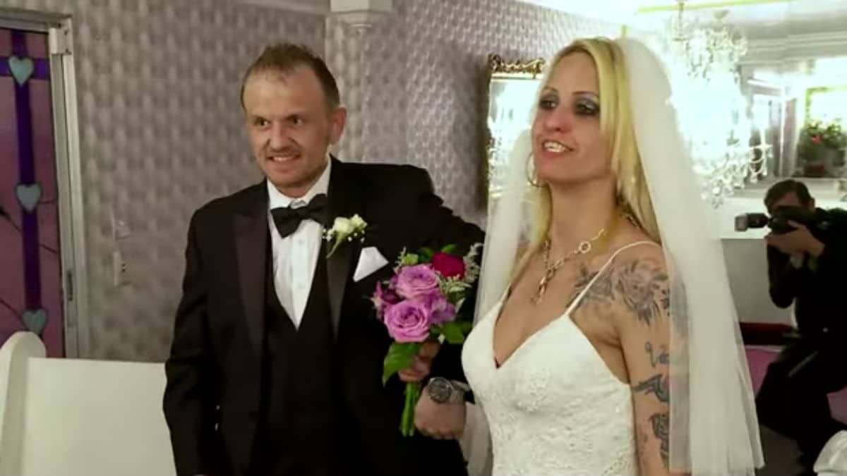 Tracie and Clint on Love After Lockup: Life After Lockup.