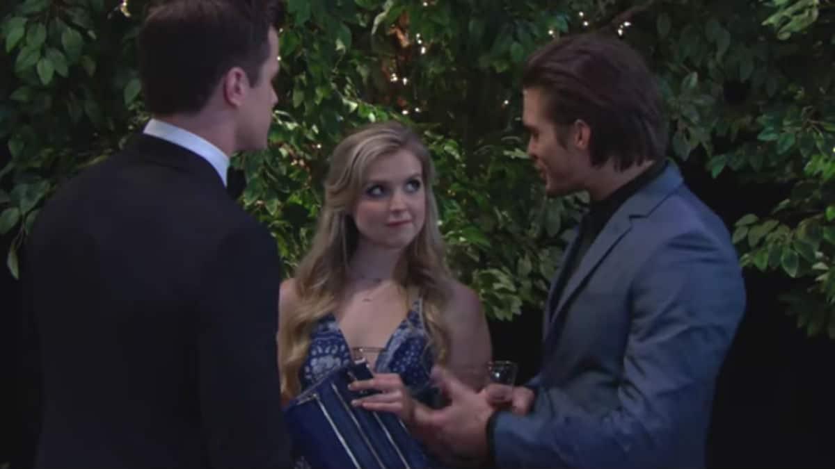 Kyle, Zoe, and Theo at the Kola wedding.