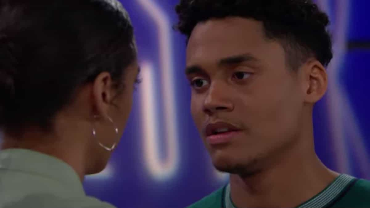 Adain Bradley as Xander on The Bold and the Beautiful.