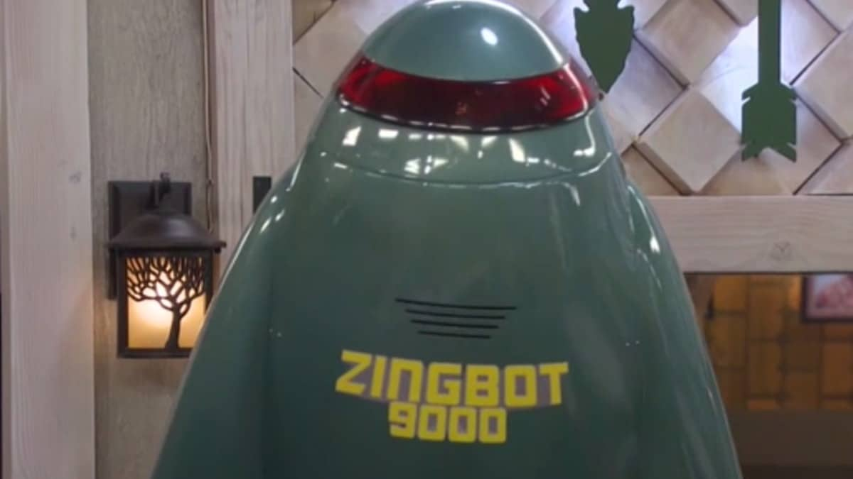 Who is the voice of Zingbot 9000 on Big Brother?