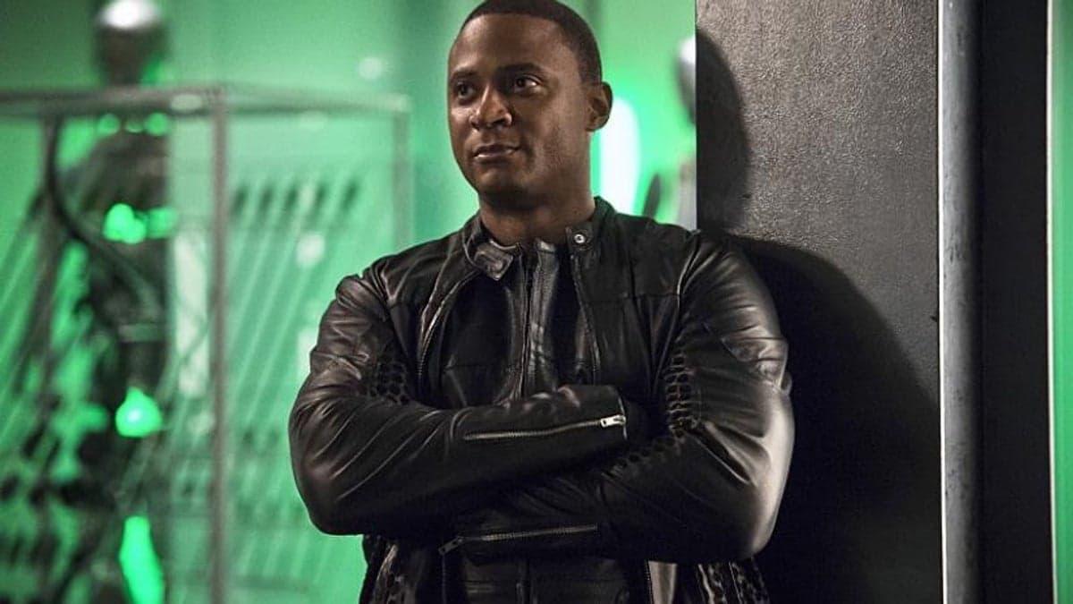 David Ramsey as John Diggle on Arrow.