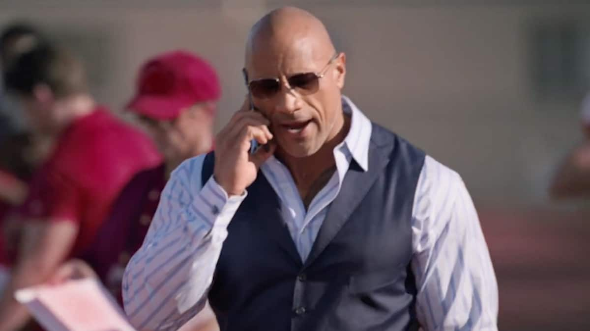 dwayne the rock johnson stars in HBO show ballers