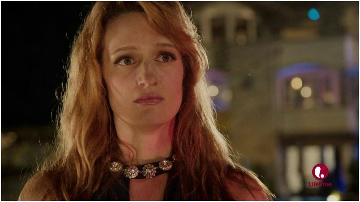 Brenda Wool from Glow season 3 in unknown Lifetime movie