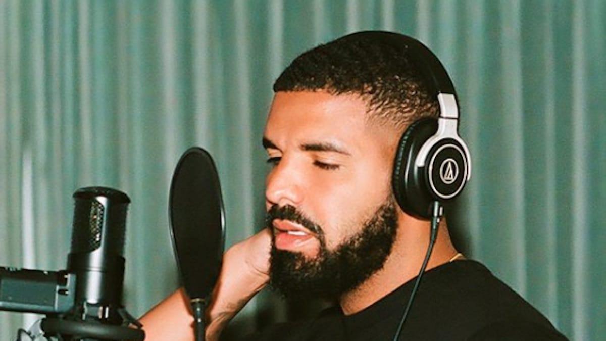 drake recording music for new album