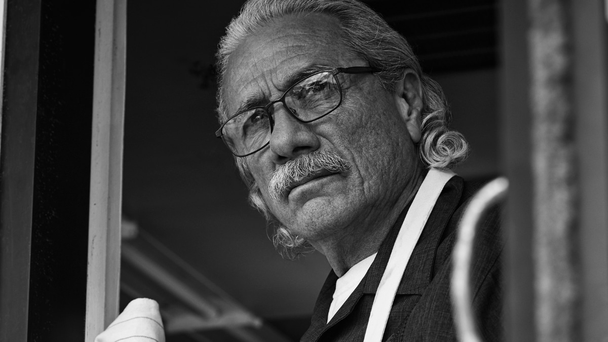 Edward James Olmos as patriarch Felipe Reyes. Pic credit:: James Minchin/FX