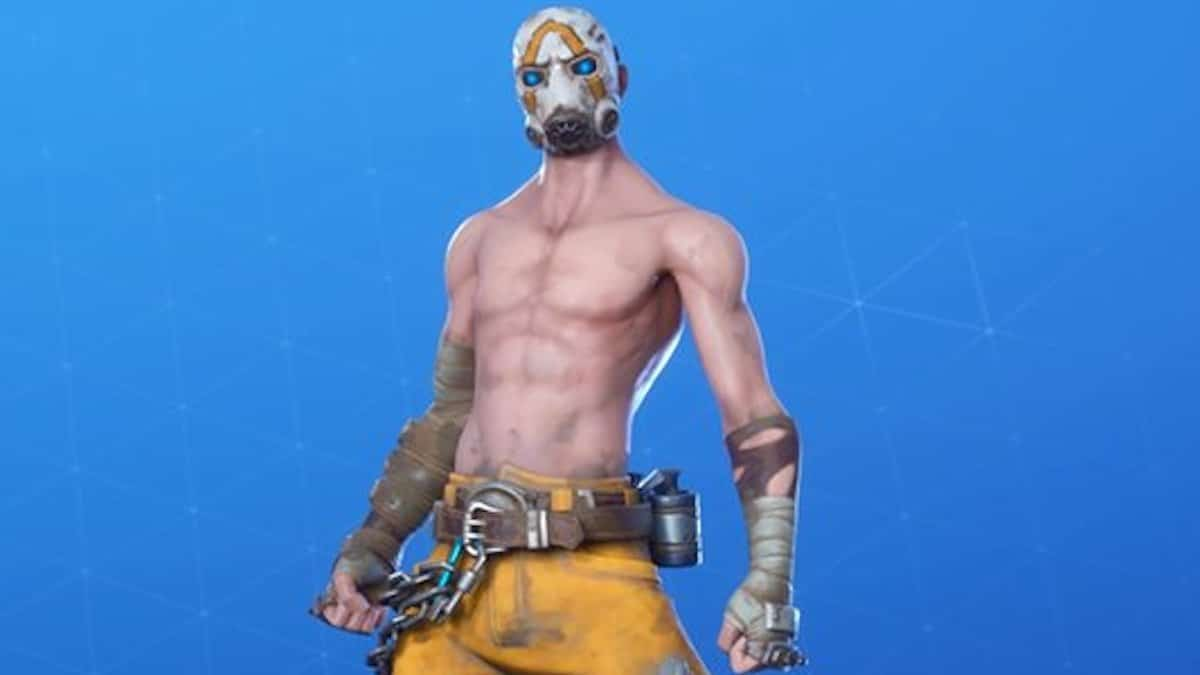 fortnite psycho bundle pack with psycho bandit outfit