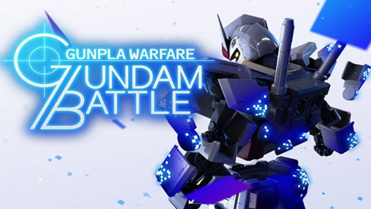 Gundam Battle: Gunpla Warfare promotional image