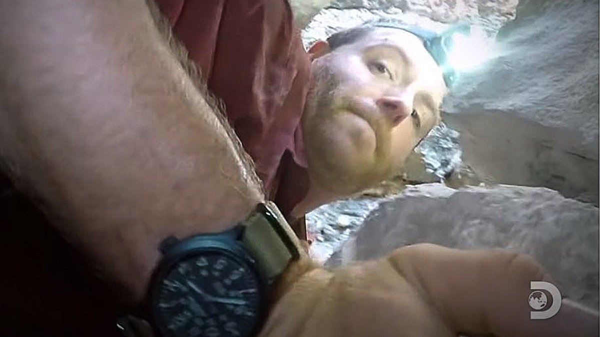 josh - Expedition Unknown exclusive: Josh Gates finds a secret tunnel inside a tunnel