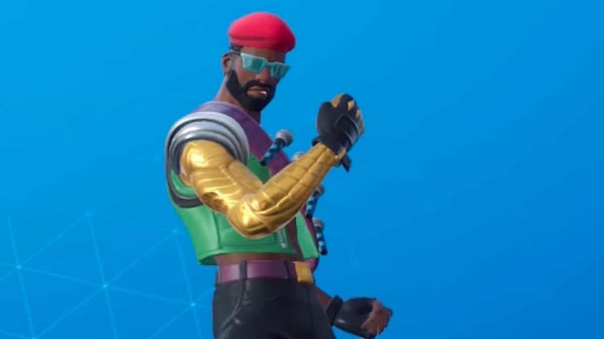 major lazer costume in fortnite 2019