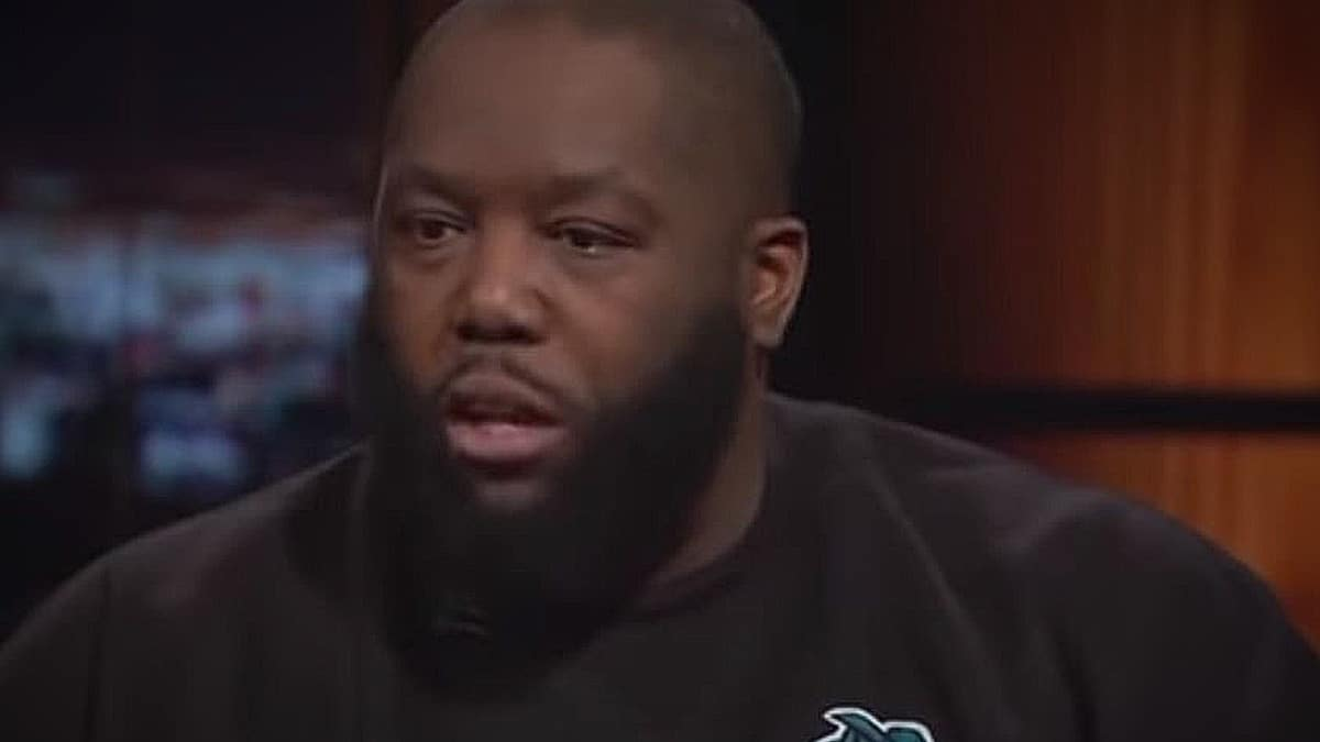 Killer Mike caught a lot of flack for standing up for Maher after the n-word incident. Pic credit: HBO
