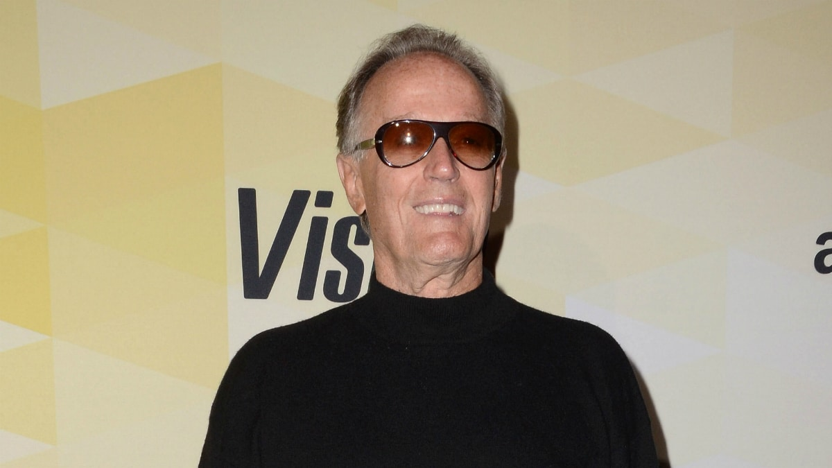 Peter Fonda. Arrivals for IMDb's 25th Anniversary Party Co-Hosted by Amazon Studios held at The Sunset Tower Hotel.