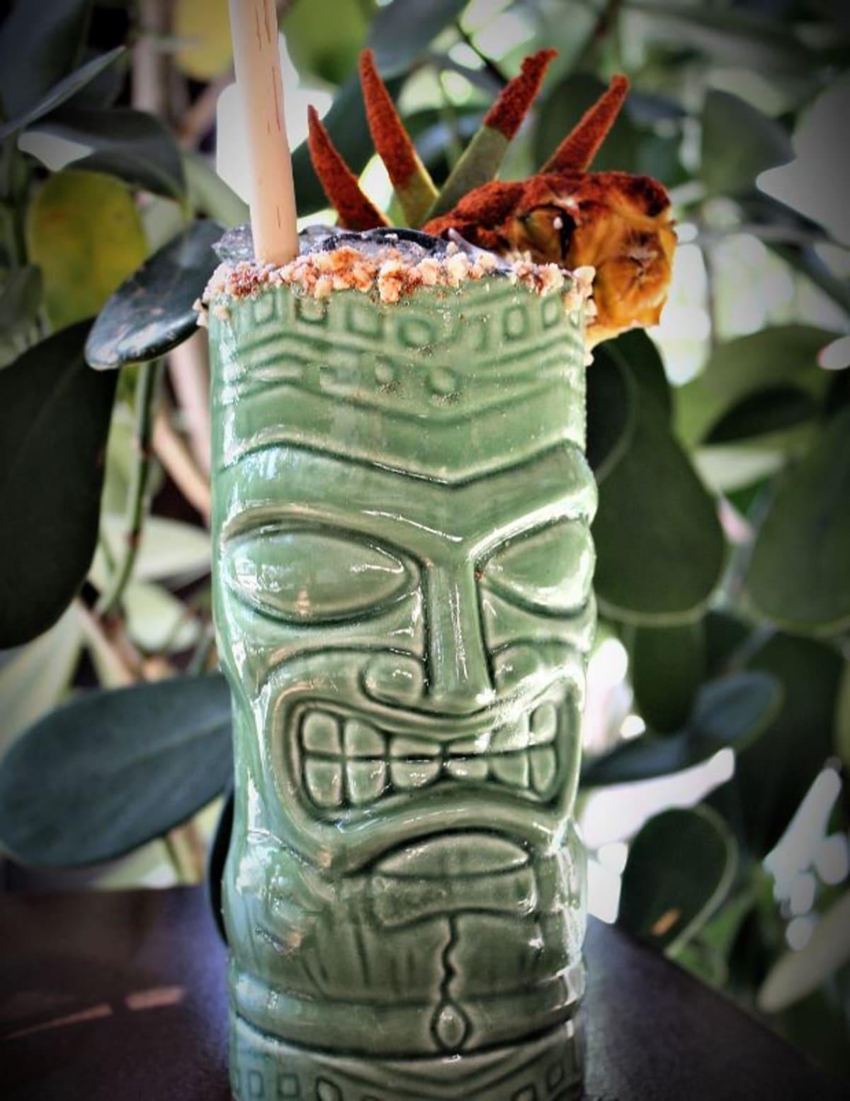 Besame's fierce revenge Tiki drink Pic credit: Besame