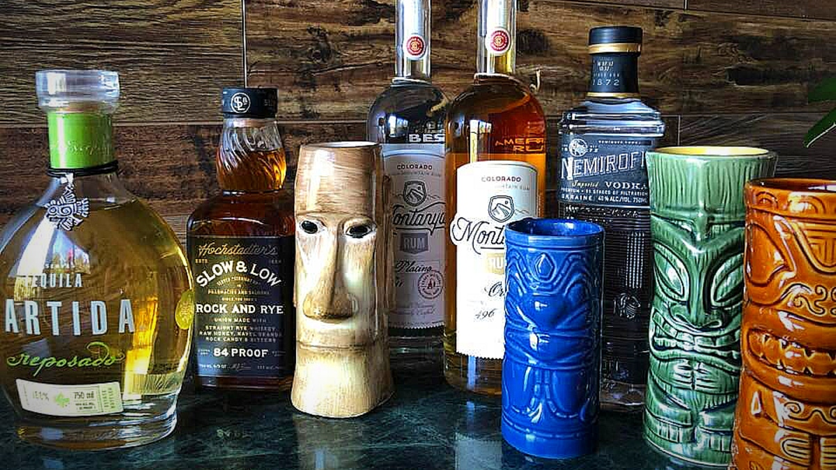 Fight the Dog Days with these new Tiki recipes! Pic credit: Monsters and Critics